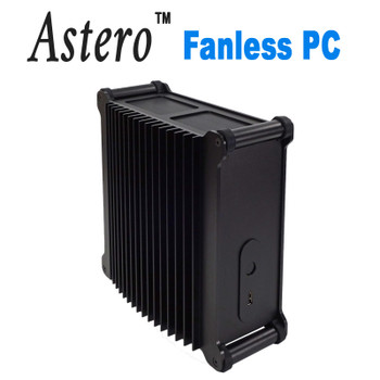 Astero Fanless Office Mini PC, 10th Gen up to i7 10700T,  up to 64GB DDR4, Fast NVMe SSD [ASUS H410T]