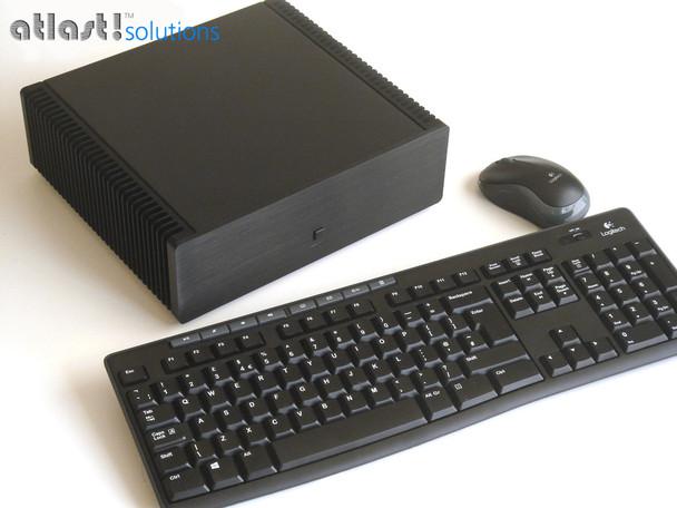 Ultimate Fanless PC, Core i7 7700T, 8GB DDR4, 256GB SSD, Thunderbolt 3, HDMI 2.0 [ASRock  Fatal1ty Z270]