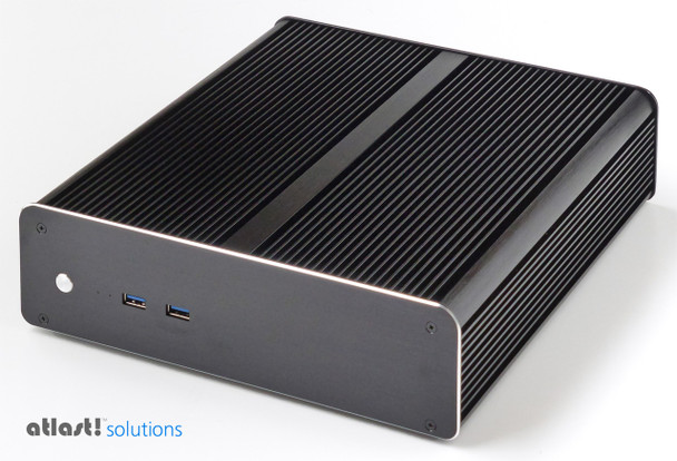 Fanless M-Series PC Core i5 7400T Kaby Lake, 8GB, 256GB PCIe SSD  [M-H270i-PRO]