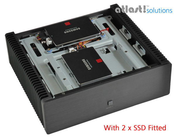 Ultimate Fanless Mini PC, i7 8700T 8th Gen, Dual Intel LAN, Displayport, HDMI 2.0, 8GB, 250GB SSD, PCI-e Expansion [IMB310TN]