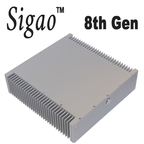 Sigao Fanless PC, 8th Gen 6-Core i7 8700T, 16GB DDR4 3000Mhz, Samsung 970 Plus 250GB PCIe SSD [Z390]