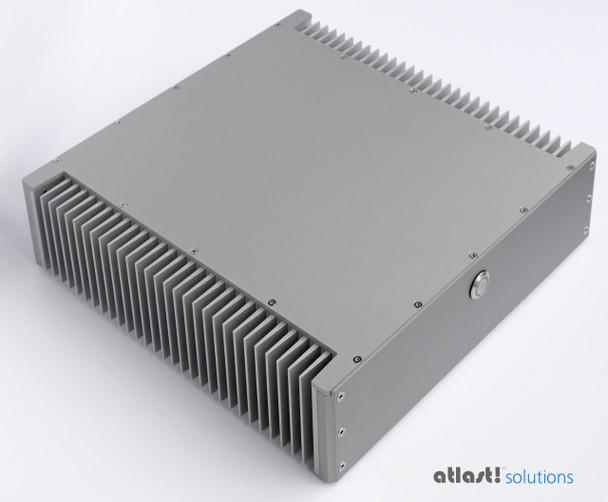 Sigao Fanless PC, 9th Gen 8-Core i7 9700T, 16GB DDR4 3000Mhz, Samsung 970 Plus 250GB PCIe SSD [Z390]