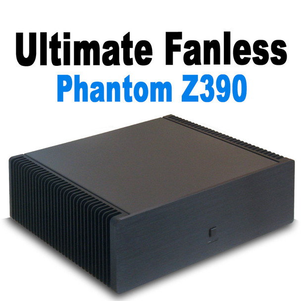 Ultimate Fanless PC, 9th Gen up to i7, Fast Samsung 970 NVMe SSD, Thunderbolt3, HDMI 2.0 [ASR Z390]