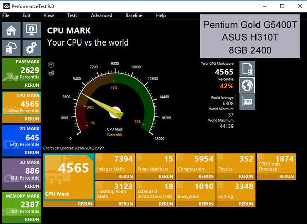 Fanless S-Series Mini PC, Entry Level Business or Home, VESA mount [ASUS H310T]