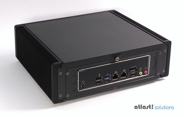 Ultimate Fanless Mini PC, Industrial, 9th Gen up to i7, Dual Intel LAN, Displayport, HDMI 2.0 [IMB310TN]