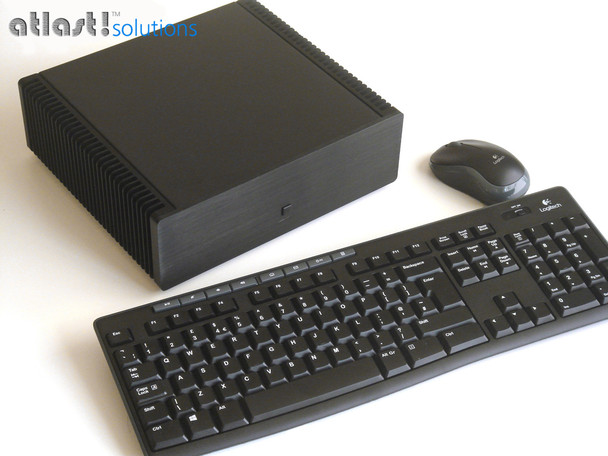 Ultimate Fanless Mini PC, Industrial, 9th Gen up to i7, Dual Intel LAN, Displayport, HDMI 2.0, NVMe SSD,  PCI-e Expansion [IMB370TN]