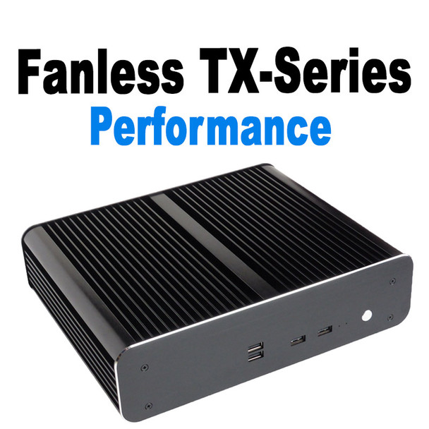 Fanless TX-Series High Performance Mini PC, 9th Gen up to i7 9700T,  NVMe SSD [ASUS H310T]