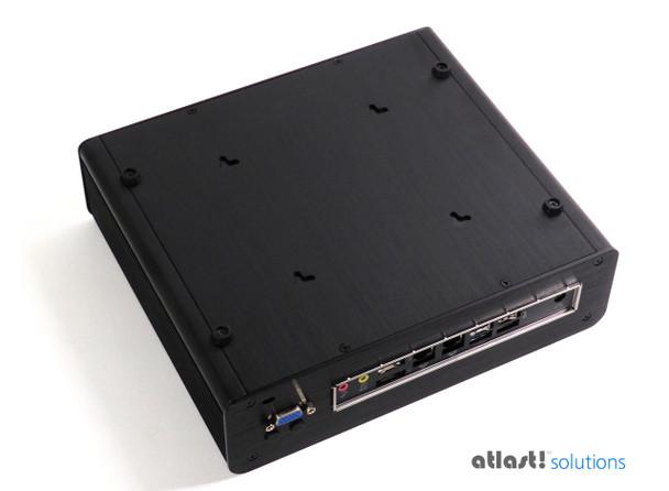 "Fanless T-Series Mini PC, Industrial,  9th Gen up to i7, Dual intel LAN, HDMI 2.0, 2x2.5"" Expansion [IMB370TN]"