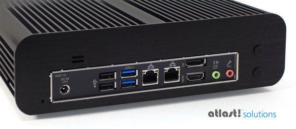 Fanless S-Series Mini PC, Industrial, 9th Gen up to i5, Dual intel LAN, HDMI 2.0, NVMe SSD [IMB310TN]