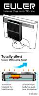 Fanless Mini PC Core i5 Kaby Lake, Displayport, HDMI, Dual LAN, 8GB, 250GB SSD [ASUS H110T]