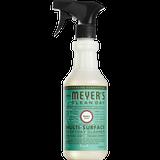 étiquette français nettoyant multi-surfaces quotidien au parfum de basilic mrs meyers - FR