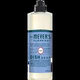étiquette français détersif à vaisselle au parfum de jacinthe des bois mrs meyers - FR