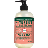 mrs meyers geranium liquid hand soap english label - EN