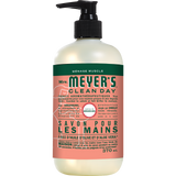 mrs meyers geranium liquid hand soap french label - FR