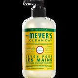 mrs meyers honeysuckle liquid hand soap french label - FR