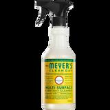 étiquette français nettoyant multi-surfaces quotidien au parfum de chèvrefeuille mrs meyers - FR