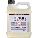 mrs meyers lavender liquid hand soap refill french label - FR