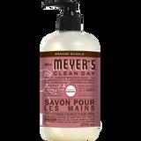 mrs meyers rosemary liquid hand soap french label - FR