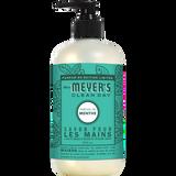 mrs meyers mint liquid hand soap french label - FR