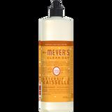 mrs meyers orange clove dish soap french label - FR