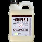 étiquette français recharge de détersif à vaisselle au parfum de lavande mrs meyers - FR