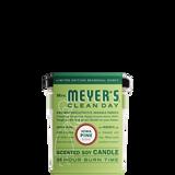 mrs meyers iowa pine soy candle large sleeve - EN