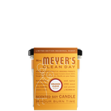 mrs meyers orange clove soy candle large sleeve - EN