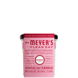 mrs meyers peppermint soy candle large sleeve - EN