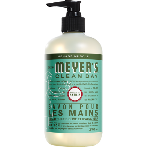 mrs meyers basil liquid hand soap french label - FR
