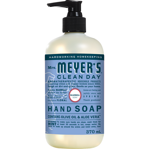 mrs meyers bluebell liquid hand soap english label - EN