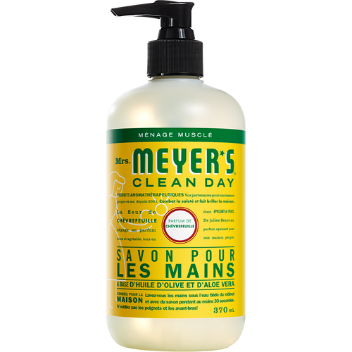 mrs meyers honeysuckle liquid hand soap french label - FR