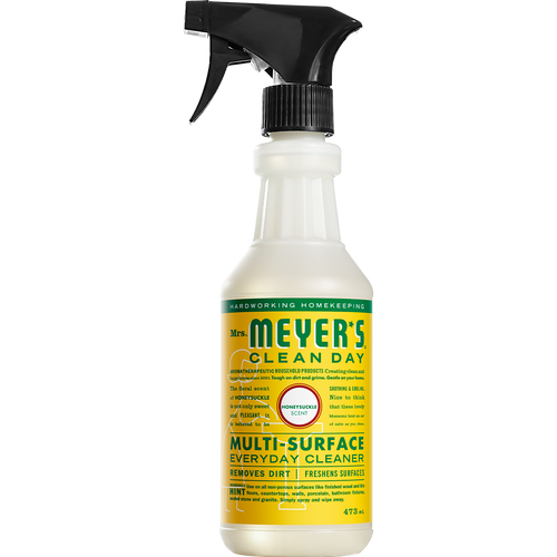 mrs meyers honeysuckle multi surface everyday cleaner english label - EN