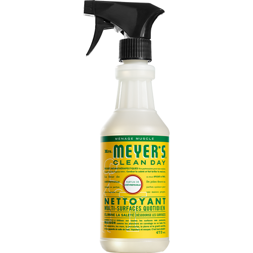 mrs meyers honeysuckle multi surface everyday cleaner french label - FR