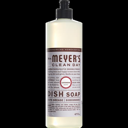 mrs meyers lavender dish soap english label - EN