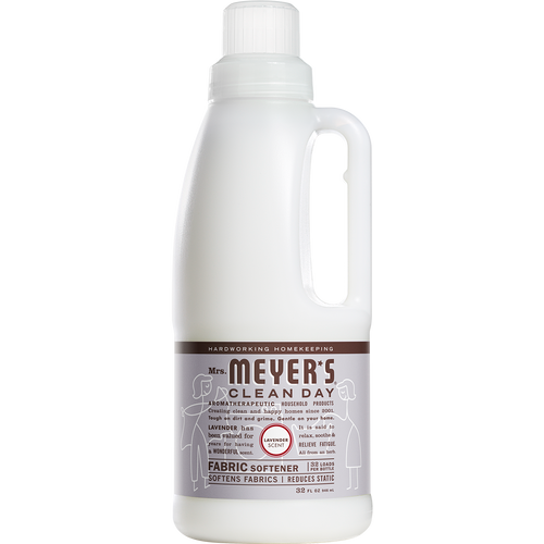 mrs meyers lavender fabric softener english label  - EN