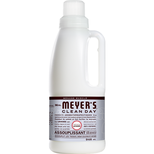 mrs meyers lavender fabric softener french label - FR
