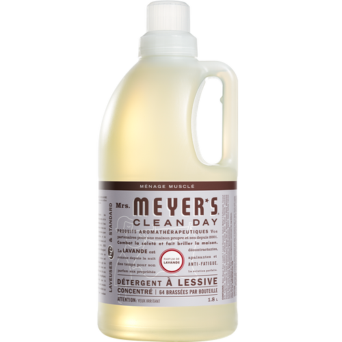 mrs meyers lavender laundry detergent french label - FR