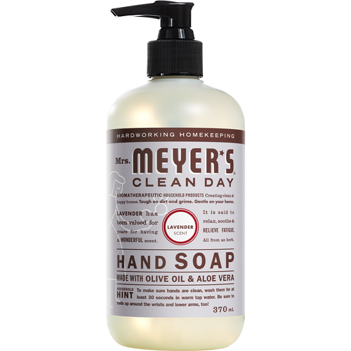 mrs meyers lavender liquid hand soap english label - EN