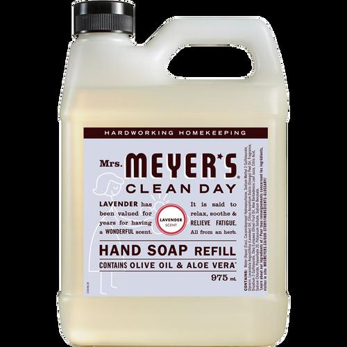 mrs meyers lavender liquid hand soap refill english label - EN