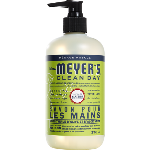 mrs meyers lemon verbena liquid hand soap french label - FR