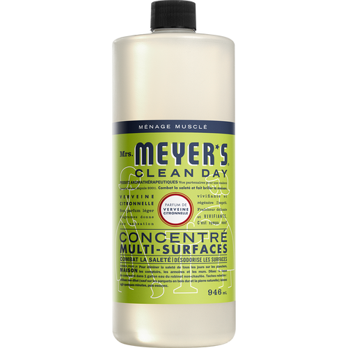 mrs meyers lemon verbena multi surface concentrate french label - FR