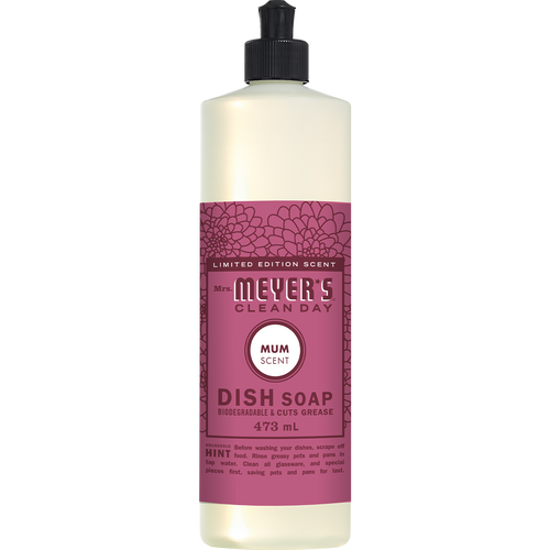 mrs meyers mum dish soap english label - EN