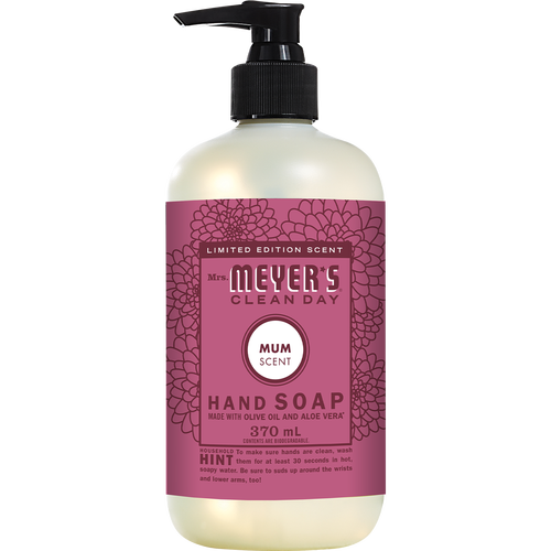 mrs meyers mum liquid hand soap english label - EN