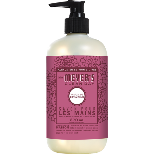 mrs meyers mum liquid hand soap french label - FR