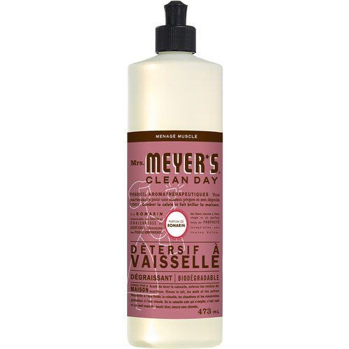 mrs meyers rosemary dish soap french label - FR