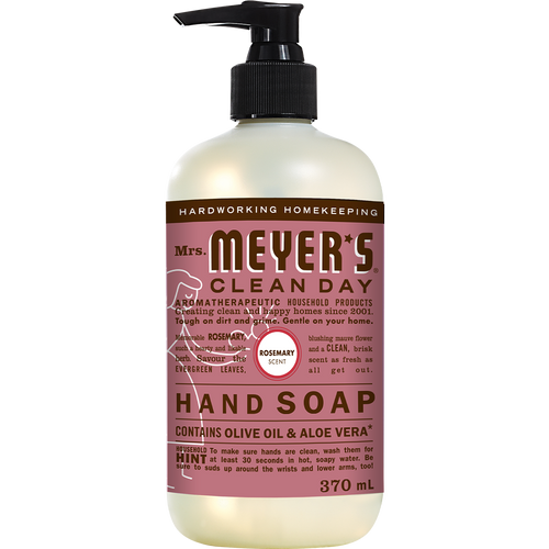 mrs meyers rosemary liquid hand soap english label - EN