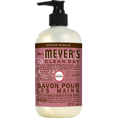 mrs meyers rosemary liquid hand soap french label - FR