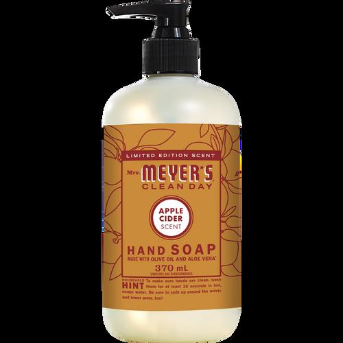 mrs meyers apple cider liquid hand soap english label - EN
