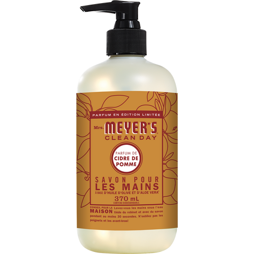 mrs meyers apple cider liquid hand soap french label - FR