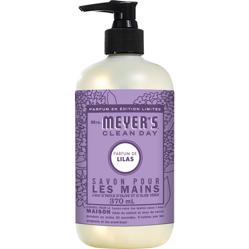 mrs meyers lilac liquid hand soap french label - FR